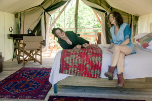 Glamping photos are courtesyFirelight Camps at La Tourelle Resort and Spa.