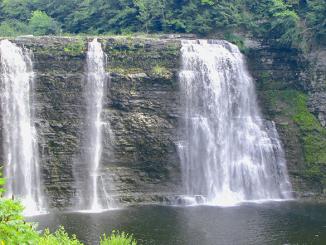 Salmon River Falls in northern Oswego County. Photo courtesy Oswego County Tourism