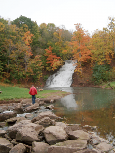 Holley Canal Falls. Photo by Sandra Scott.