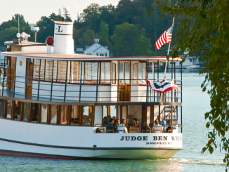 The Judge Ben Wiles boat on Skaneateles Lake, part of boats operated by Mid-Lakes Navigation Co. Photo provided.