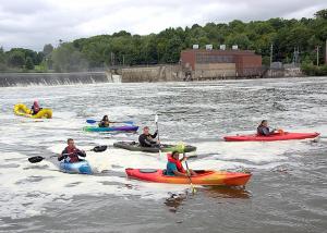 Oswego Paddlefest. Photo by Duane St. Onge. Courtesy of Oswego County Promotion and Tourism Department.