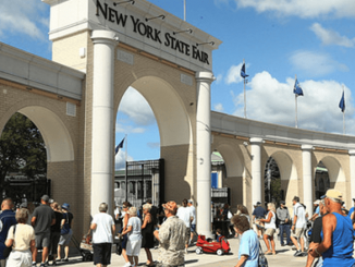 Great New York State Fair's main entrance. Photo courtesy of the Great New York State Fair.