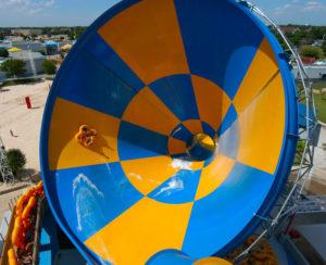 Water slide at Darien Lake in Darien Center.