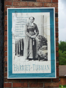 """Harriet Tubman, the """"Moses of her people,"""" was an escaped slave who put herself in danger by making 13 trips into slave states rescuing 70 enslaved family and friends."""