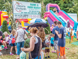 Ontario Orchard's Fall Jamboree in Sterling.