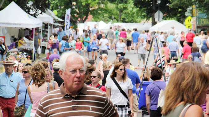 Corn Hill Arts Festival in Rochester last year. Photo provided.