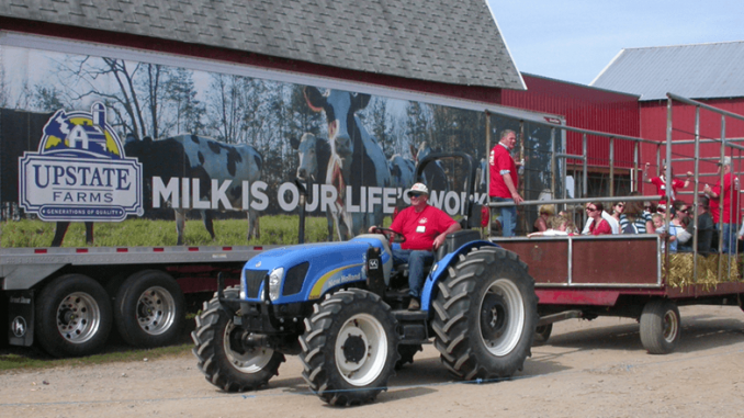 Fun on the Farm in Seneca Castle, Ontario County, is one of the events in the region that offer festivals, wagon ride tours, farm-based games and farm-fresh fall favorites like apples, cider and pumpkins. Photo by Deborah Jeanne Sergeant.