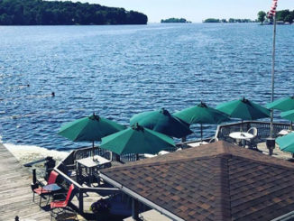 One lakeside place to eat in Sodus Bay is Skipper's Landing. Drive up or boat in to enjoy the great food with a great view — year round.