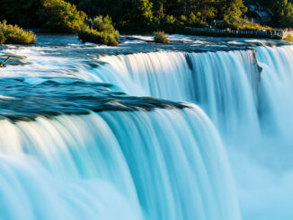 """Opposite George Kilpatrick, creator and host of """"Inspiration for the Nation"""" on Power620 AM, visited Niagara Falls last fall. """"It was so replenishing!"""" he says."""